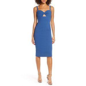 Dress the Population Eve Blue Midi Dress